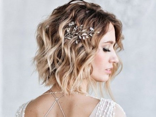 Wedding Hairstyles For Short Hair Mage Themes